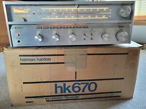 Harman Kardon HK-670 Twin DC Stereo Receiver - one owner