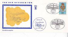 Berlino 1975 Friedrich stadfest cartolina FDC inutilizzato in buonissima condizione