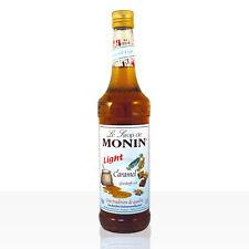 MONIN Sirup Caramel Light 0 7l
