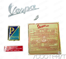 Vespa Badge Kit Vbb Vba Vbc VM VN VL Super Sprint Primavera GS GL 150 125 Blue