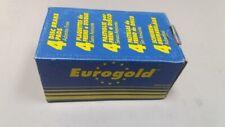 EUROGOLD - 4 PASTIGLIE FRENI A DISCO SENZA AMIANTO PEUGEOT 306,405/VOLKSWAGEN/SE