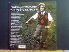 MARTY FELDMAN  The Crazy World Of . . .   LP      NEAR-MINT !