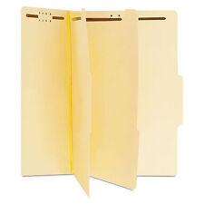 Universal Manila Classification Folders Letter Six-Section 15/Box 10300