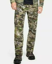 $100 Under Armour UA Men's Field Ops Hunting Pants Forest Camo 42x32 1313212-940