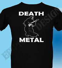 Death Metal T-Shirt The Grim Reaper Heavy Metal Rock Gig Original 3XL 4XL 5XL