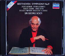 Georg SOLTI: BEETHOVEN Symphony No.9 Jessye Norman Hans Sotin Runkel Schunk CD