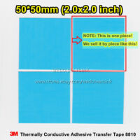 10pcs 3M 8810 50x50mm Heatsink LED Thermal Adhesive Transfer Raidator Cooler Pad