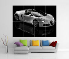 BUGATTI VEYRON GIANT WALL ART PICTURE PRINT POSTER G112