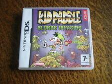 jeu nintendo ds kid paddle blorks invasion