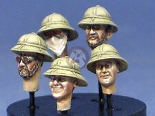 Resicast 1/35 British (BEF) with Wolseley Pattern Pith Helmets (5 Heads) 355649