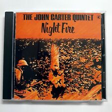 Night Fire John Carter Quintet CD 1981 Black Saint Jazz Italy NO IFPI