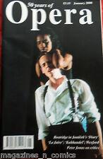 OPERA MAGAZINE, JANUARY 2000, LA JUIVE