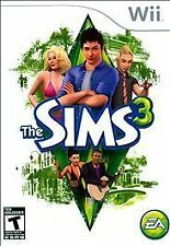 THE SIMS 3 Nintendo Wii Game Disc