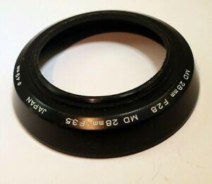 49mm Minolta Lens Hood Shade for MD 28mm f3.5 f2.8 Genuine Original Japan