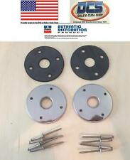 1970 Challenger TA AAR Cuda E Body Hood Pin Bezels & Gaskets Kit New MoPar