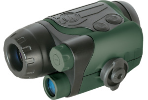Yukon Spartan 2 x 24 Night Vision Monocular #24121 - Green/Black (UK Stock) BNIB