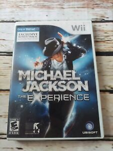 Michael Jackson The Experience Walmart Exclusive for Nintendo Wii w Instructions