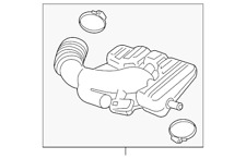 Genuine GM Outlet Duct 13372201