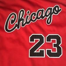 Authentic Chicago Bulls Michael Jordan 23 Mitchell Ness Sewn Rookie Red Jersey