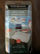 SWISS GEAR Space Saving Packing Bags Set of 4 - 1 large 3 Medium NEW