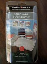 SWISS GEAR Space Saving Packing Bags Set of 4 - 1 large 3 Medium NEW