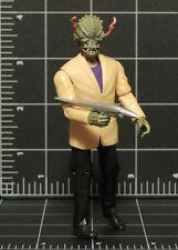 """Men in Black 3 MIB Stalk Eyes Alien Cosmic Quick-shift 4"""" 1:18 Loose toy figure"""