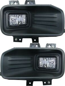 fit FORD F150 PICK UP 2018-2020 RIGHT LEFT HALOGEN FOG LIGHTS DRIVING LAMPS PAIR