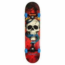 Powell Peralta Cosmic Red Skull & Snake Factory Complet Skateboard Rouge 7.625""