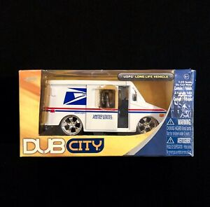 Jada Dub City 1:32 Scale USPS Die-Cast Postal Mail Delivery Truck In Box 2008