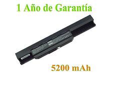 5200mAh Batería para Asus A43 A53 K43 K53 X43 X44 X53S X54 X84 A32-K53 A42-K53
