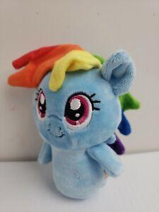 Hallmark ITTY BITTYS Little Pony Blue RAINBOW DASH Plush Stuffed no tag Toy b37