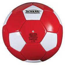 Tachikara Recreational Soccer Ball Size 5 Scarlet/White Sm5Sc-Scarlet/White New