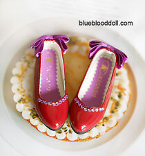 1/3 bjd SD13 SD10 girl doll red color flat shoes dollfie dream ship US