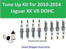 Tune Up Kit for 2010 - 2014 Jaguar XK V8 Air Filter, Champion Iridum Spark Plug
