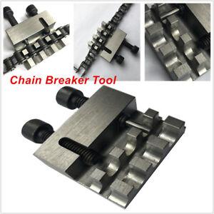 Motorcycle Bikes Chain Splitter Breaker Riveting Tool Heavy Duty No. 40/41/420
