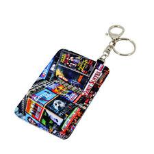 10pcs Sublimation blank diy Slim Coin Pocket PU Credit Card Holder Card Wallet
