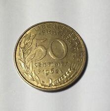50 centimes LAGRIFFOUL 1962 col 3 plis Num5
