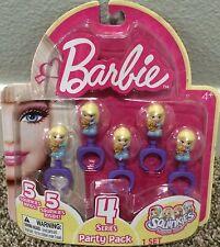 Squinkies 5 Rings Barbie Series 4 Party Pack Party Favors NIP