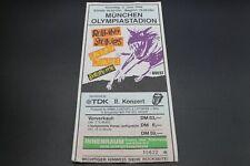Vecchio biglietto concerto-ROLLING STONES-lo stadio olimpico Monaco - 3.6.1990
