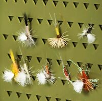 Dry Fly Spinners Fishing Flies  8 pcs 	NP- 29 Flies