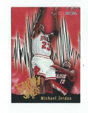 1995-96 Hoops #358 Michael Jordan (Earth Shakers) Bulls