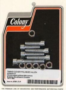 Colony - 8761-7 - Cam Cover Screw Kit, Allen