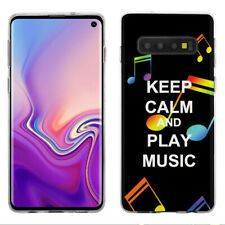 TPU Phone Case for Samsung Galaxy S10 - Keep Calm Music