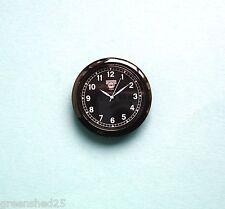 Premium 55mm nero lunetta quadrante nero orologio al quarzo movimento Insert per 52mm Hole