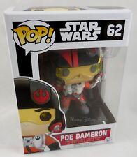 New Funko Star Wars: The Force Awakens Pop! Poe Dameron Vinyl Bobble-Head #62