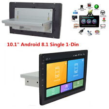 """1Din Android 8.1 10.1"""" HD Bluetooth Car Stereo Radio GPS Wifi Mirror Link Player"""