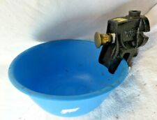 Poly Water Bowl Automatic Water Feeder Trough Bowl For Horse Goat Sheep Cattle