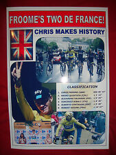 Chris Froome Tour de France winner 2015 - souvenir print