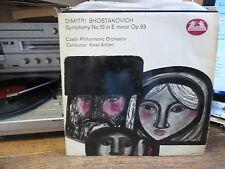 Dimitri Shostakovich- Karel Ancerl  : symphony n° 10 in E Minor - Op. 93 -