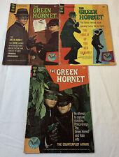 1966-1967 Gold Key tv show comics GREEN HORNET #1 2 3 ~ FULL SET ~ Bruce Lee